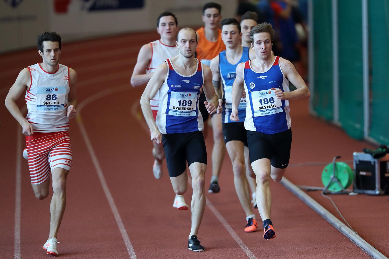 Indoor CZ Championship Ostrava Sunday 19