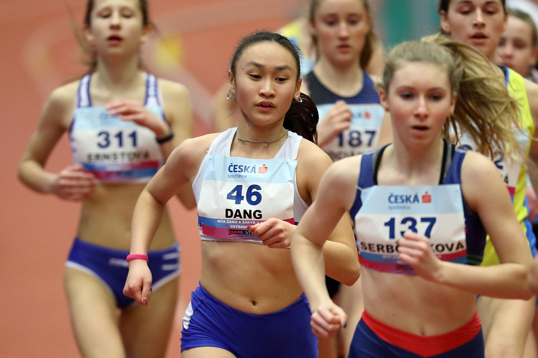 Ostrava Indoor CZ Championship U16 Saturday 27