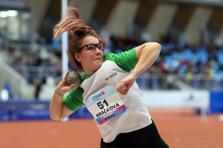 Ostrava Indoor CZ Championship U16 Sunday 31