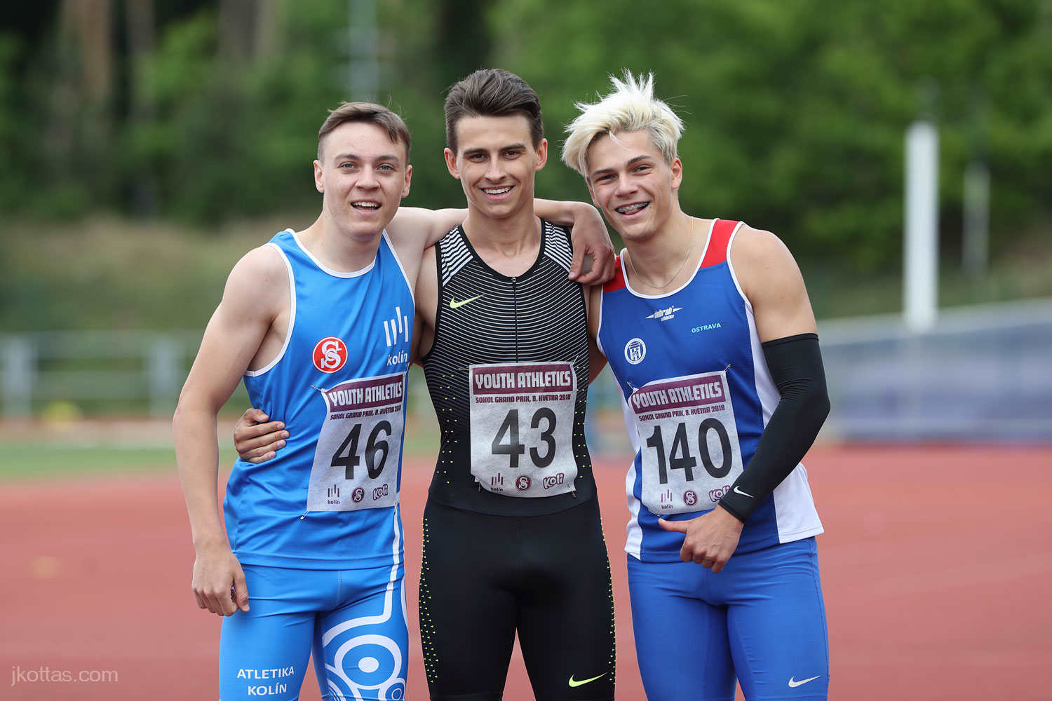 2018_05_08 Youth Athletics Kolin